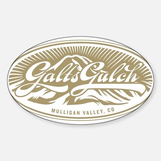 Galt's Gulch Sticker (Oval)