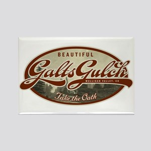 Galt's Gulch Rectangle Magnet