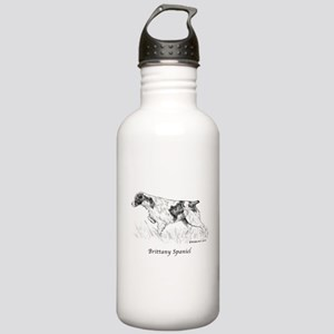 Brittany Spaniel Stainless Water Bottle 1.0L