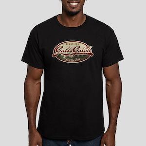 Galt's Gulch Men's Fitted T-Shirt (dark)