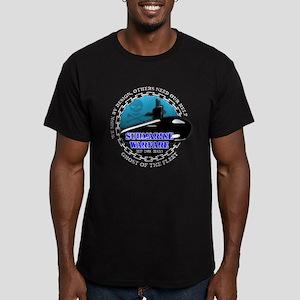 Deep Dark Deadly Men's Fitted T-Shirt (dark)