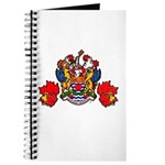 Coat Of Arms With Maple Leafs Journal