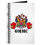 Coat Of Arms, Maple Leafs, Black Lettering Journal