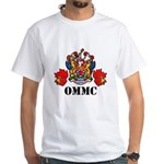 Coat Of Arms, Maple Leafs, Black Lettering T-Shirt