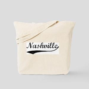Vintage Nashville Tote Bag
