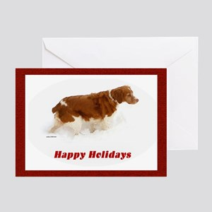 Brittany Spaniel Greeting Cards (Pk of 10)