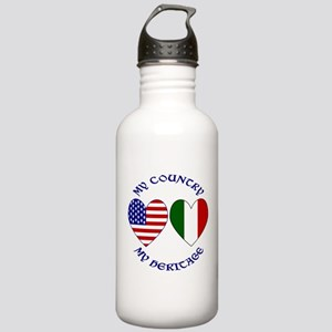 Italian Country Heritage Stainless Water Bottle 1.