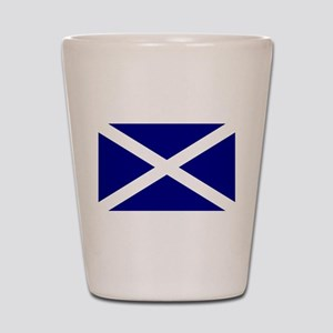 Flag of Scotland Shot Glass