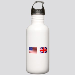 USA & Union Jack Stainless Water Bottle 1.0L