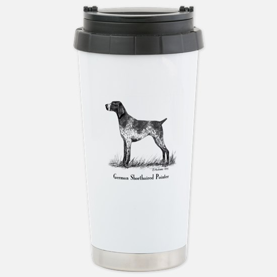 German Shorthaired Pointer Stainless Steel Travel