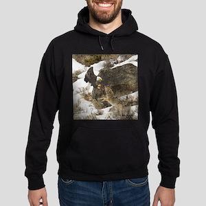 Eagle and Coyote Apperal Hoodie (dark)