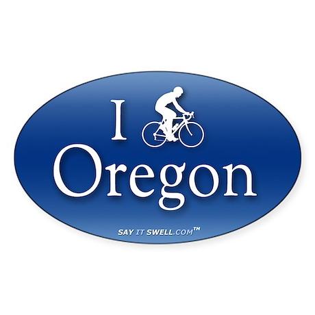 Bike Oregon Oval