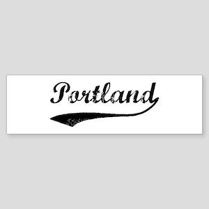 Vintage Portland Bumper Sticker