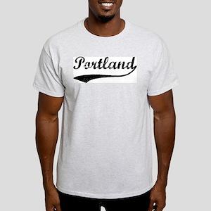 Vintage Portland Ash Grey T-Shirt