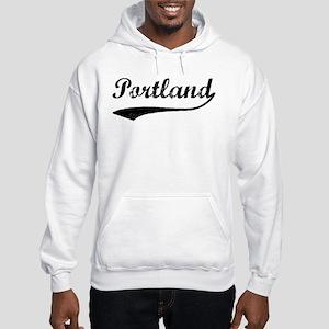 Vintage Portland Hooded Sweatshirt