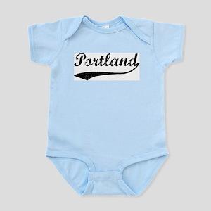 Vintage Portland Infant Creeper