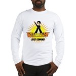 Stephen Just Coming (white trans) Long Sleeve T-Sh