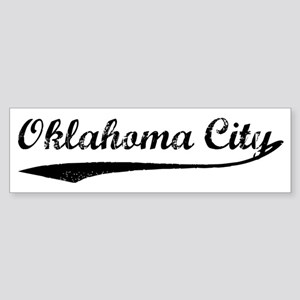 Vintage Oklahoma City Bumper Sticker