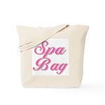Pink Spa Tote Bag