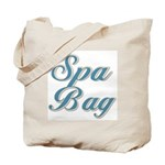 Blue Spa Tote Bag