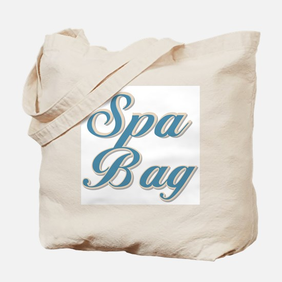 Blue Spa Tote Bag