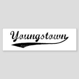 Vintage Youngstown Bumper Sticker