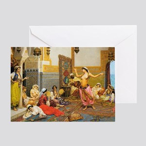 The Harem Dance 5x7 Greeting Card