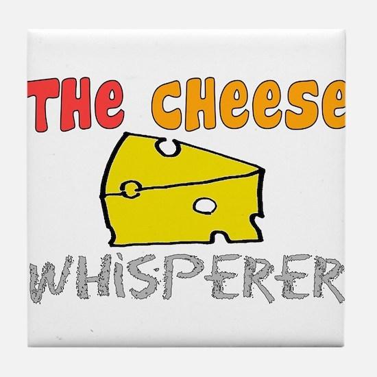 Food Love Whisperers Tile Coaster