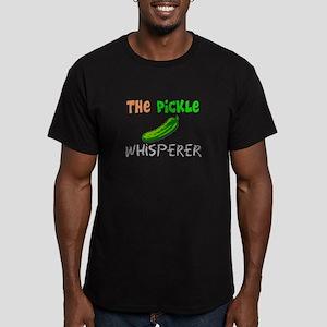 Food Love Whisperers Men's Fitted T-Shirt (dark)