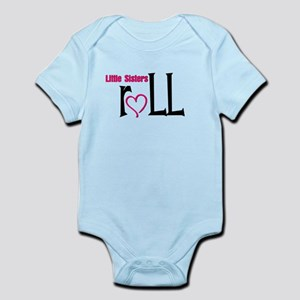 Little sisters roll Infant Bodysuit