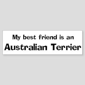 Best friend: Australian Terri Bumper Sticker