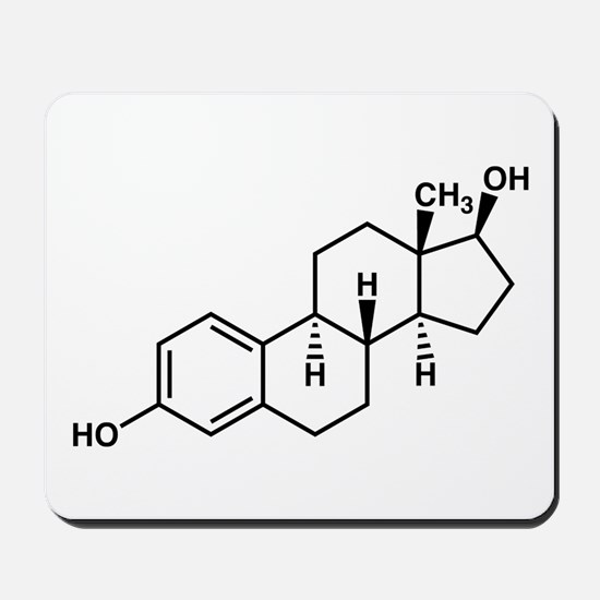 Estrogen Molecule Mousepad