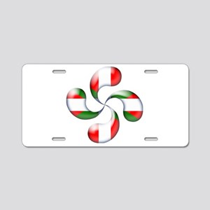 Basque Candy Aluminum License Plate