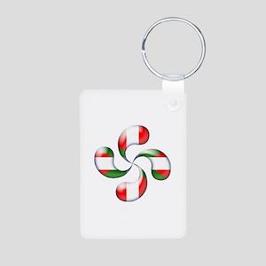 Basque Candy Aluminum Keychain