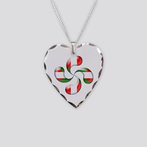 Basque Candy Necklace Heart Charm