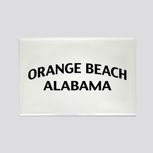 Orange Beach Alabama Rectangle Magnet