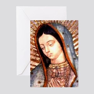 Guadalupe Virgin Mary s Greeting Cards