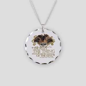 Shakespeare Hamlet Quote Necklace Circle Charm