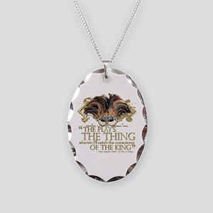 Shakespeare Hamlet Quote Necklace Oval Charm