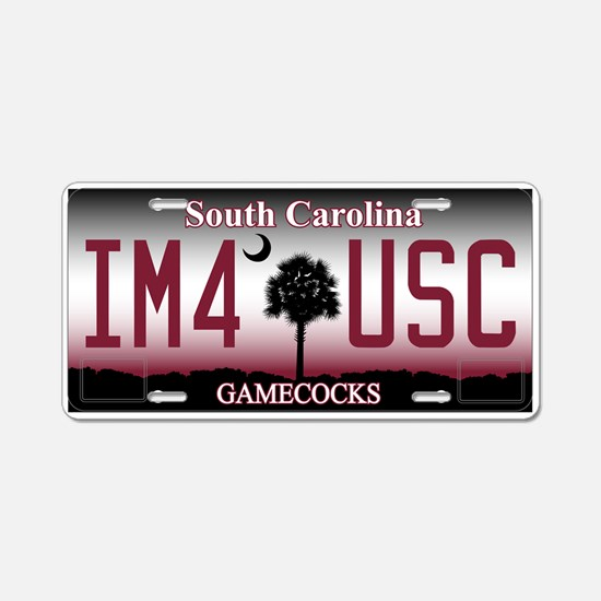 South Carolina Gamecocks License Plate