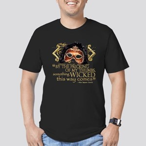 Macbeth Quote Men's Fitted T-Shirt (dark)