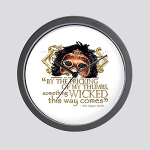 Macbeth Quote Wall Clock