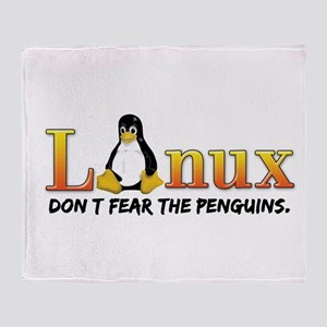 Linux Throw Blanket
