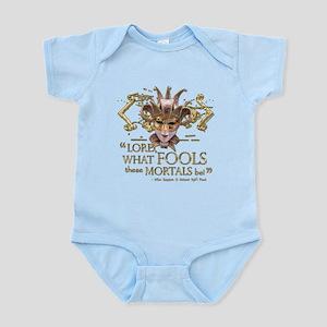 Shakespeare Fools Quote Infant Bodysuit