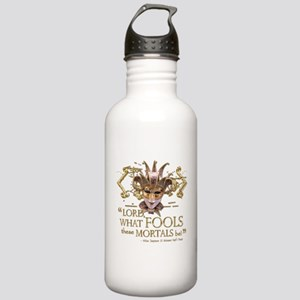 Shakespeare Fools Quote Stainless Water Bottle 1.0