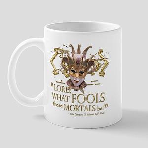 Shakespeare Fools Quote Mug