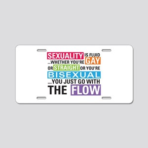 Shane L Word Quote Aluminum License Plate