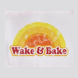 Wake and Bake Throw Blanket