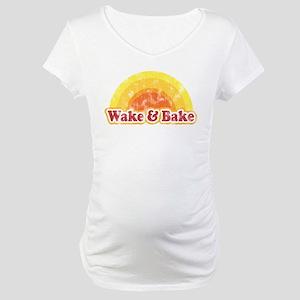 Wake and Bake Maternity T-Shirt