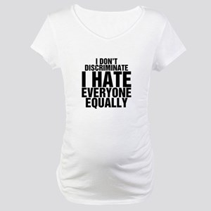 Hate Equally Maternity T-Shirt